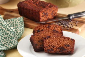 PaleoNewbie-Pumpkin-Bread-on-Cutting-Board-633x425