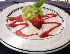 Kiwi Cheesecake Slice at The Oaks