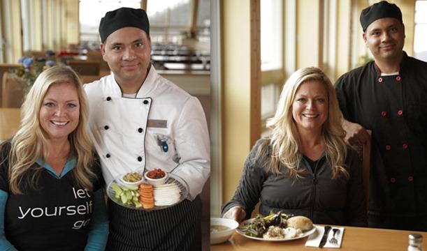 DK and chef Raju