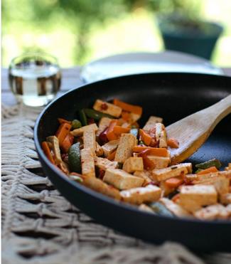 Coconut Thai Tofu Lettuce Wraps