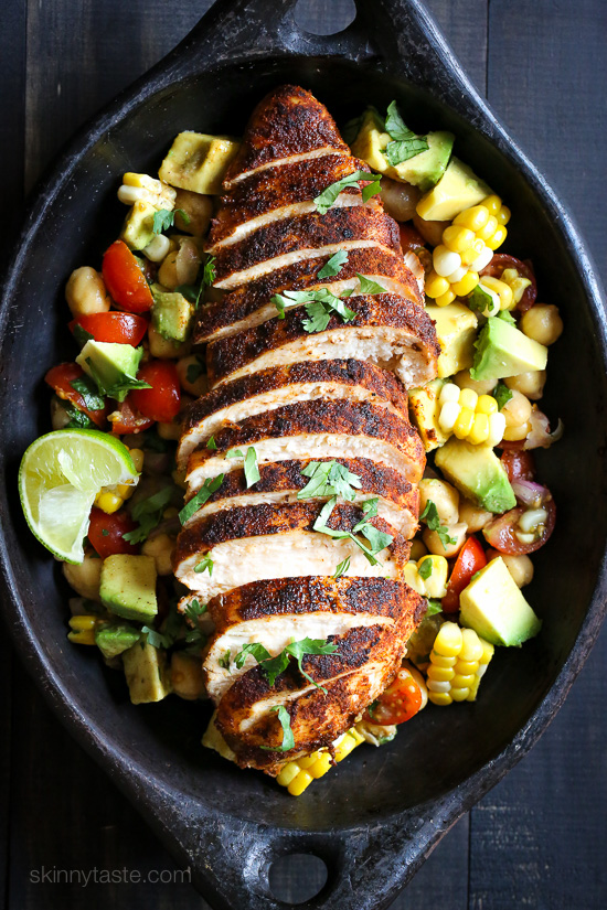 Blackened-Chicken-Fiesta-Salad