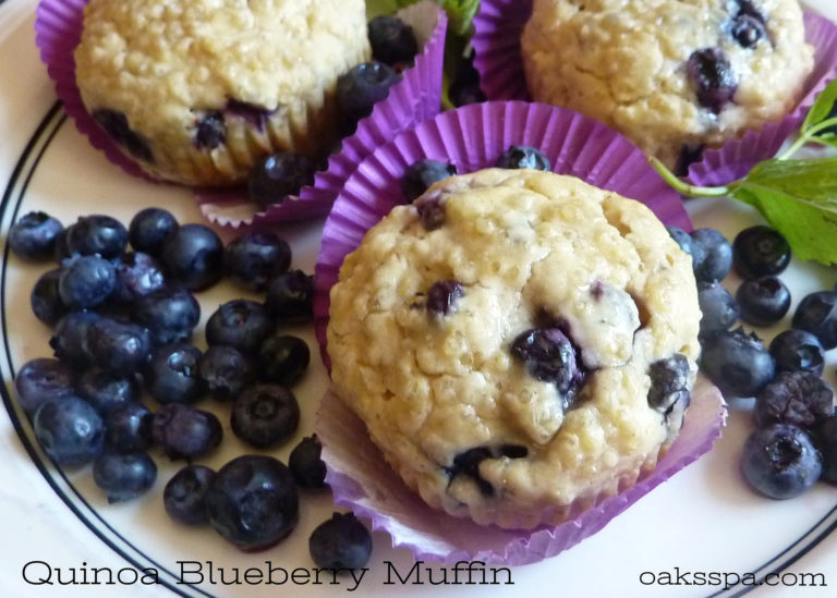 Quinoa_Blueberry_Muffin_Recipe_OaksSpa-768x549